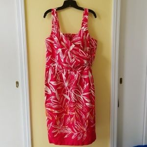 Madison Leigh Pink Floral Wrap Dress Size 20W